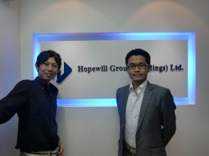 hopewill代表堀社長とビジネスバックパッカー